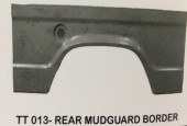 013-Rear Mudguard Border